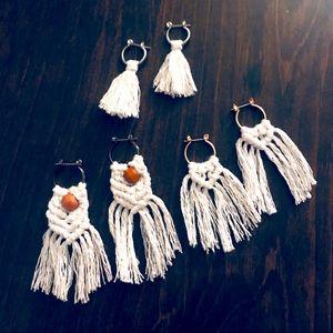 ✋🏻Made w/L♥️VE;🆕3pc Earrings Set Hypoallergenic